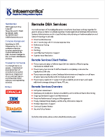 Remote DBA Services