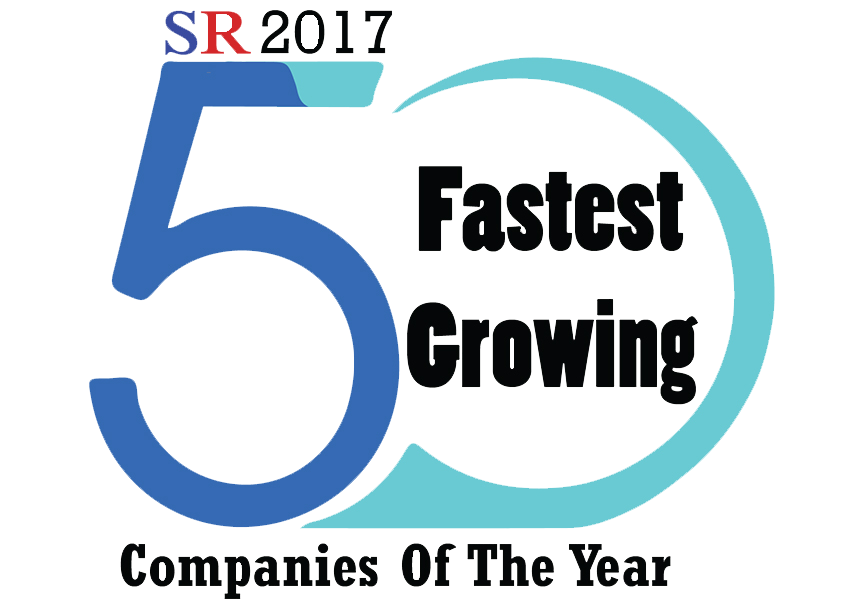50 Fastest Growing Companies of the Year 2017 logo